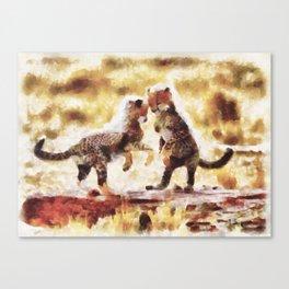 Euforia Selvagem Canvas Print