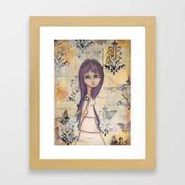 Stand Boldly Framed Art Print
