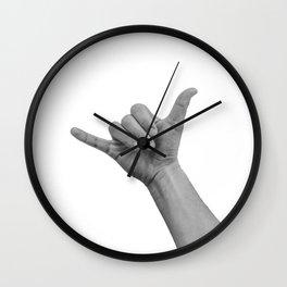 shaka bro Wall Clock