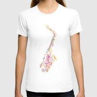 jazz T-shirts featuring Jazz by boldizo