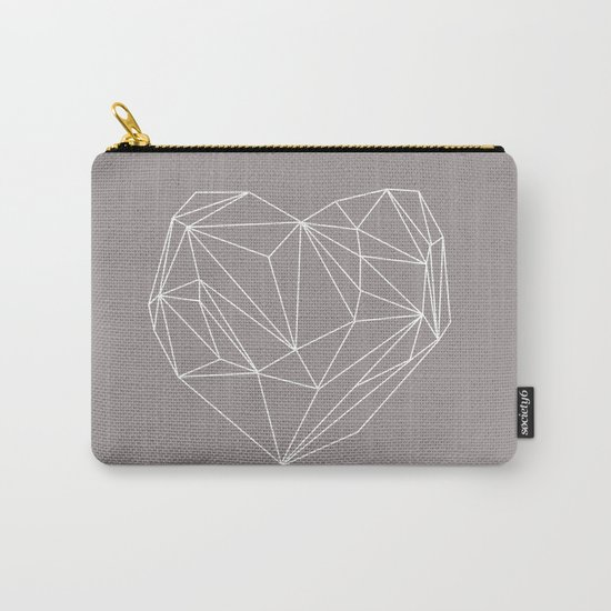 Heart Graphic Carry-All Pouch