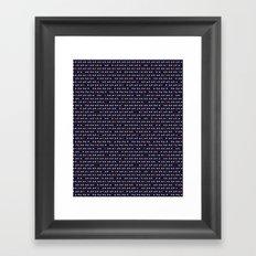 Little Peaks Framed Art Print