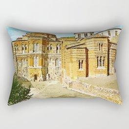 Hosios Loukas monastery Distomo Greece Rectangular Pillow