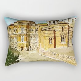 Hosios Loukas monastery Distomo Greece Rectangular Pillow