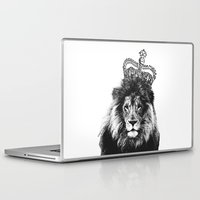 the lion king Laptop & iPad Skins featuring Lion King by MaNia Creations