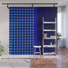led blue Wall Mural