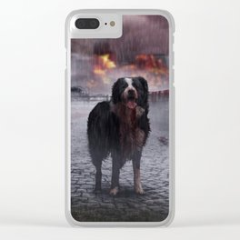 Apocalyptic Clear iPhone Case