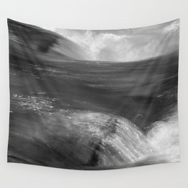 Never stop flowing.... Mountain river Wall Tapestry