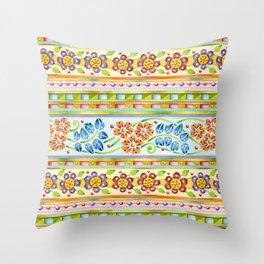 Parterre Botanique Throw Pillow