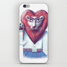 Lion's heart iPhone & iPod Skin