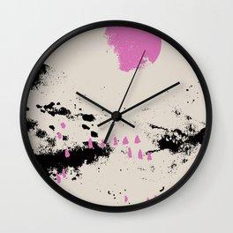 Pink vibe 1 Wall Clock
