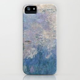 The Water Lilies, The Clouds - Digital Remastered Edition iPhone Case