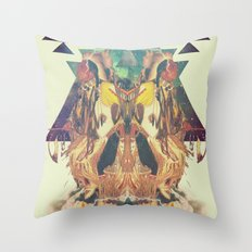 Cosmic Dance Throw Pillow