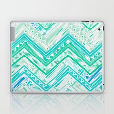 MINT ETHNIC CHEVRON Laptop & iPad Skin