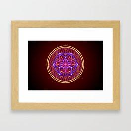 Isocahedron Framed Art Print