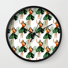 Hula spirit Wall Clock
