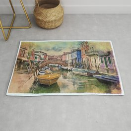 Colors of Burano Rug