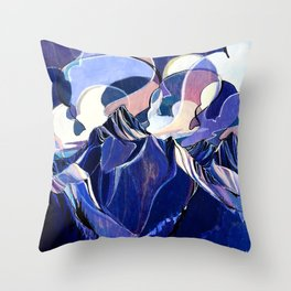 Tilt Shift - Single Line Throw Pillow
