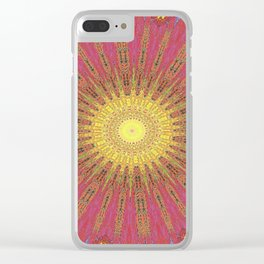 Eye_of_gold Clear iPhone Case