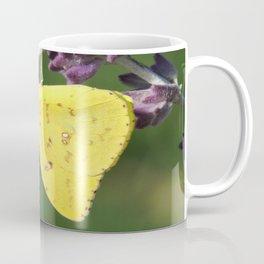 Orange Sulphur Butterfly Coffee Mug