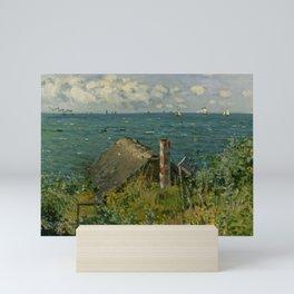 """Claude Monet """"La Cabane de Saint-Adresse"""" Mini Art Print"""
