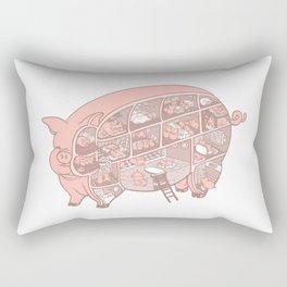 Pigtopia Rectangular Pillow