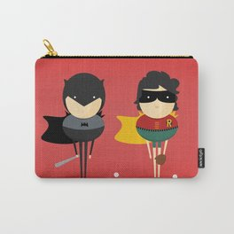 Bat-man & Robin: Heroes and super friends! Carry-All Pouch