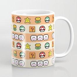 Pixel Game Retro (Orange) Coffee Mug