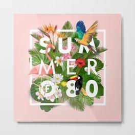 SUMMER of 80 Metal Print