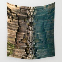 Cheon-je-yeon Waterfalls Wall Tapestry