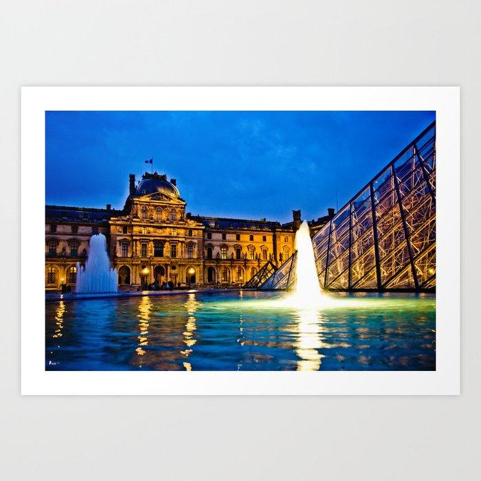 Palais du Louvre II Art Print
