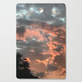 Glowing Clouds Cutting Board