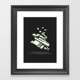 Frank Lloyd Wreck Framed Art Print