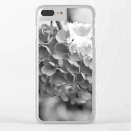 Hydrangea in Bloom Clear iPhone Case