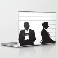 johnny cash Laptop & iPad Skins featuring Johnny Cash by Jarom Ward