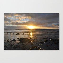 Sunset at Trestles Beach Canvas Print