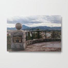 The View from Skinner Butte Metal Print