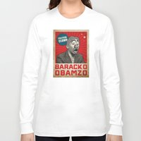 political Long Sleeve T-shirts featuring Political Clown by politics