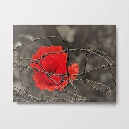 poppy - remembrance Metal Print