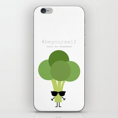 Be yourself - Ingredienti coraggiosi iPhone & iPod Skin