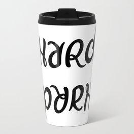 Ambigram Hard Porn Travel Mug
