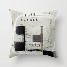 « graphique 1965 » Throw Pillow
