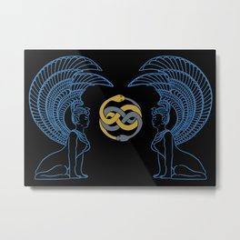 Oracle and Auryn Metal Print