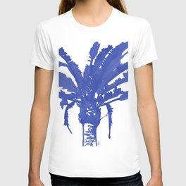 Stand Tall Blue Palm Tree T-shirt