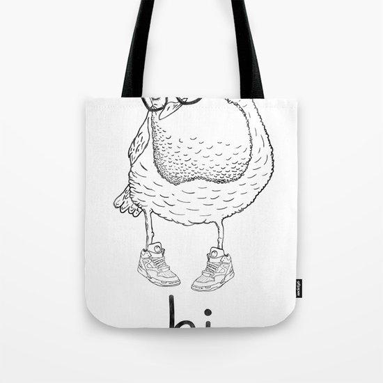 hi. Tote Bag