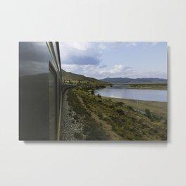 Tran Siberian to Mongolia Metal Print