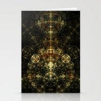 matrix Stationery Cards featuring Matrix by Eli Vokounova