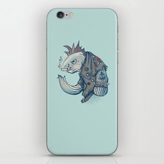Punk Fish iPhone & iPod Skin