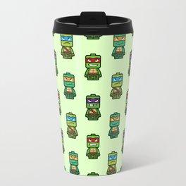 Chibi Ninja Turtles Travel Mug
