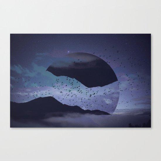 Am I sleepwalking? Canvas Print